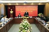 Le président Trân Dai Quang travaille avec la Fédération des Barreaux du Vietnam