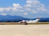 Premier vol de calibration à laéroport de Vân Dôn