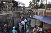 Soutien aux victimes de lincendie à Phnom Penh
