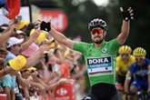 Tour de France: et de deux pour Sagan qui sprinte en côte