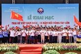 Le Camp d'été du Vietnam apporte des expériences précieuses aux jeunes Viêt kiêu