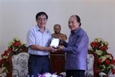 Remise au Laos d'un film sur les liens entre le président Souphanouvong et le Vietnam