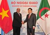 Pour dynamiser les relations de coopération Vietnam - Algérie