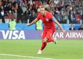 Mondial-2018: l'Anglais Harry Kane quasiment assuré de terminer meilleur buteur