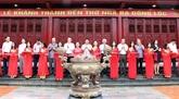 Inauguration du temple du carrefour de Dông Lôc à Hà Tinh