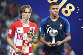 Modric, Mbappé et Courtois, élus meilleurs joueurs du tournoi