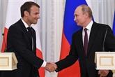 La Russie et la France sont en train de reconstruire leurs mécanismes de coopération