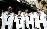 Italie - Juventus: arrivée de Cristiano Ronaldo à Turin