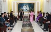 Hô Chi Minh-Ville reçoit une délégation de la province laotienne de Champassak
