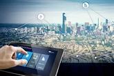 Édification de villes intelligentes - tendance de la révolution 4.0