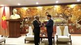 Hanoï souhaite coopérer avec l'Afrique du Sud dans plusieurs domaines