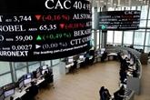La Bourse de Paris recule légèrement, entre les résultats et la Fed