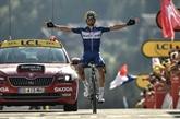 Tour de France: Alaphilippe ouvre les Alpes par la première victoire française