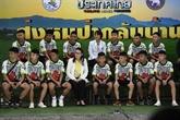 Thaïlande: les jeunes rescapés de la grotte racontent le