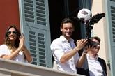 Équipe de France: Hugo Lloris fêté à Nice