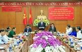 Le chef de l'État exhorte Bà Ria-Vung Tàu à utiliser efficacement les ressources