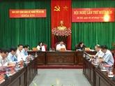 Ouverture de la 14e conférence du Comité du Parti pour Hanoï (XVIe mandat)