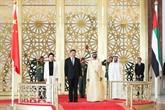 Le président chinois arrive à Abou Dhabi pour une visite d'État aux EAU
