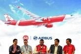 AirAsia passe une commande de 100 Airbus A330neo