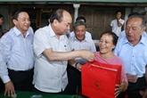 Le Premier ministre Nguyên Xuân Phuc en visite de travail à Hà Tinh