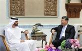 Le président chinois et le prince héritier d'Abou Dhabi s'entretiennent des relations bilatérales