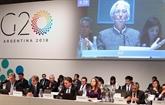 G20 Finances: les États-Unis inflexibles, le bras de fer commercial perdure