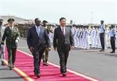 Le président chinois arrive au Sénégal pour une visite d'État