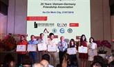 L'Association d'amitié Vietnam - Allemagne contribue aux relations bilatérales