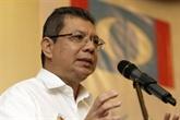 Le ministre malaisien des Affaires étrangères en visite en Indonésie