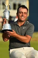 British Open de golf: l'exploit Molinari, le frisson Woods