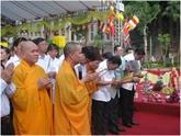 Cérémonie religieuse en mémoire des jeunes volontaires morts pour la Patrie