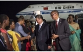 Arrivée du président chinois au Rwanda pour une visite d'État
