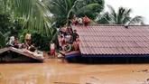 Barrage effondré au Laos: 131 personnes disparues