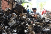 Les coulisses d'une casse auto à Bac Giang