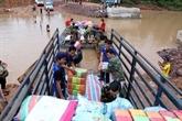 Barrage effondré: le gouvernement vietnamien accorde 200.000 dollars au Laos