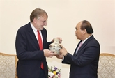 Le Premier ministre vietnamien reçoit un responsable du Parlement européen