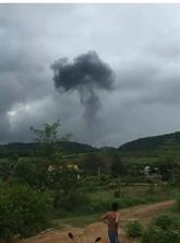 Crash d'un avion militaire dans le Centre