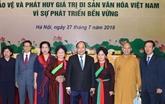 Première conférence nationale sur la valorisation des patrimoines culturels