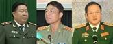 Sanctions disciplinaires à l'encontre de trois dirigeants de l'armée et de la police