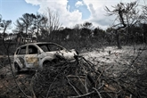 Grèce: le bilan des feux s'alourdit à 88 morts, trois enfants parmi les identifiés