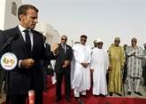 Macron en Mauritanie où l'UA a achevé un sommet assombri par des attaques au Sahel