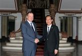 Renforcement de la coopération multiforme entre Saint-Pétersbourg et Hô Chi Minh-Ville