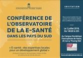 Conférence 2018 de l'Observatoire de l'e-santé dans les pays du Sud