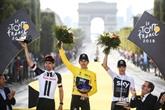 Tour de France: Geraint Thomas remplace Chris Froome en haut des