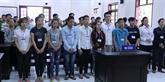 Dông Nai: jugement de 20 personnes pour trouble à l'ordre public