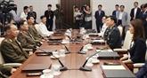 Début à Panmunjom des pourparlers militaires intercoréens entre généraux