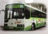 Hanoï lance des bus alimentés au gaz naturel comprimé