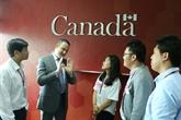 Rencontre avec des titulaires de bourses d'études canadiennes