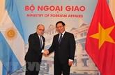 Dynamiser les liens Vietnam - Argentine