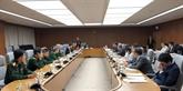 Le 6e Dialogue des politiques de défense Vietnam - Japon